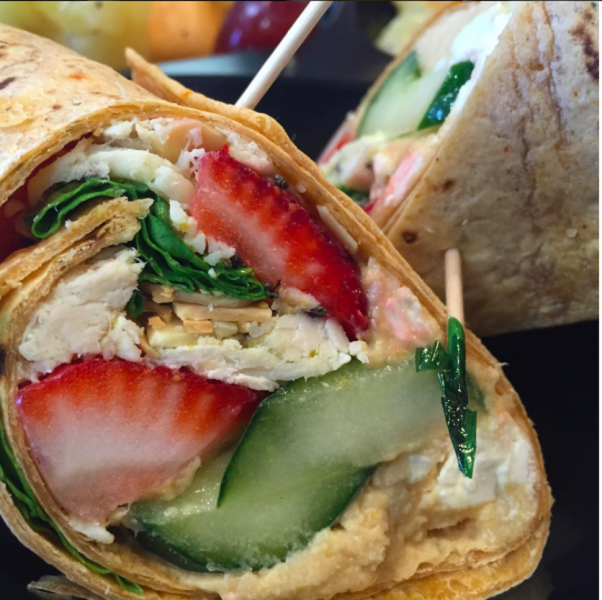 Healthier and fabulous (just like its inspiration) this wrap boasts